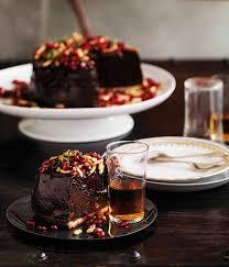 shane delia chocolate mousse tart with pomegranates u0026 pine nuts