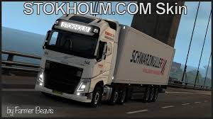 volvo transport volvo truck skin stokholm com transport v1 0 euro truck simulator