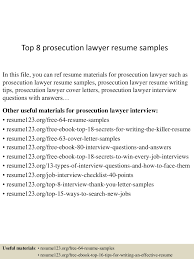 Best Resume Lawyer by Top8prosecutionlawyerresumesamples 150601105637 Lva1 App6891 Thumbnail 4 Jpg Cb U003d1433156225