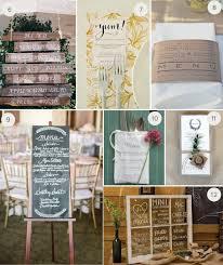 Pallet Wedding Decor 12 Unexpected And Super Creative Wedding Menu Ideas Julep