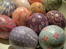 Decorating Easter Eggs With Silk by Silk Tie Dye Eggs Youtube