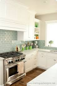 Kitchen Backsplash Glass Tile Iridescent Glass Tile By Lunada Bay Stainless Hood With Taupe