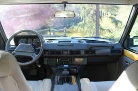 Classic Range Rover Interior 1987 Range Rover Classic 90k Miles Fully Serviced Rare Accessories
