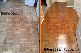 Floor 360 by Mr Sandless Before And After Of A Parquet Floor Www Mrsandless