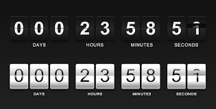 7 best flash countdowns design freebies