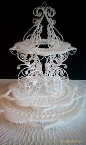 Lace Cake Decorating Techniques 71 Best Filigrana En Glace Images On Pinterest Cake Tutorial