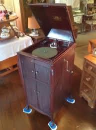 victrola record player cabinet works vintage antiqie victor victrola vv xi upright floor model