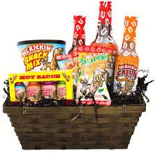 gift baskets for him basket kickin hot sauce gift basket for him