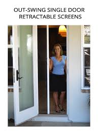 Screen French Doors Outswing - casper disappearing screens the retractable screen leader