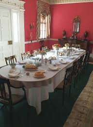 dining with the blennerhassetts promises an 1800s experience