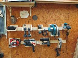 10 fabulous diy ideas power tool storage tool storage and