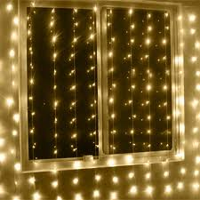 ebay outdoor xmas lights 6x3m warm white waterproof christmas curtain lights 600led outdoor