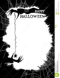 happy halloween greeting card or party flyer stock photography