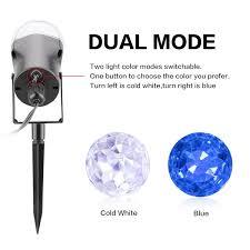amazon com excelvan kaleidoscope spotlight rotating led light