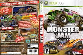 monster truck video games xbox 360 xbox360 games