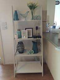 kmart styled white ladder shelves my house pinterest