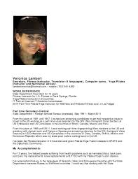 Sample Resume For Fitness Instructor by Zumba Instructor Resume Contegri Com