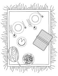 picnic coloring pages 62 coloring pages adults