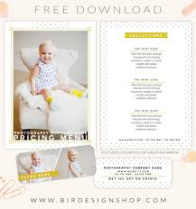 free pricing menu template u2013 birdesign