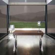 walnut desk contemporary houston modloft