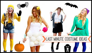 last minute diy halloween costumes style by dani youtube