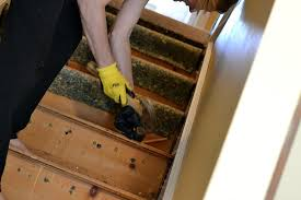 Stripping Paint From Wood Banisters To Remove Carpet From Stairs And Paint Them
