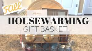 fall housewarming gift basket on a budget target dollar spot
