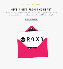 email gift card give a gift from the heart