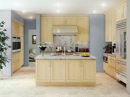 Light Maple Kitchen Cabinets Creek Cornerstone Shaker Maple Contemporary