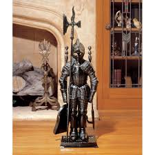 amazon com design toscano the black knight fireplace tool