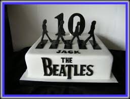 beatles cake toppers the beatles road cake my boys beatles cake