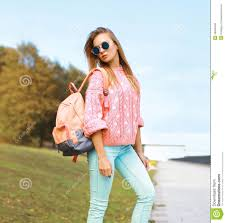 summer fashion and people concept pretty stylish hipster