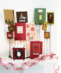 christmas card display holder wonderful ways to display christmas cards this festive season