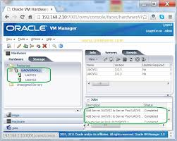 ovm console how to create a server pool on oracle vm unixarena