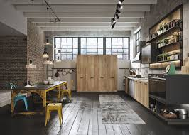 industrial and rustic designs resurfaced by loft kitchen