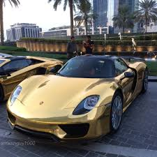 porsche chrome chrome gold porsche 918 spyder madwhips