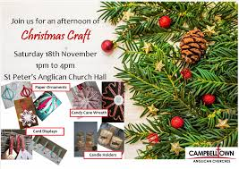 christmas craft campbelltown anglican churches