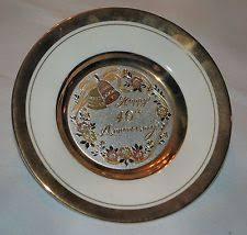 40th anniversary plate the of chokin 40th anniversary plate ebay