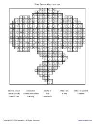 word search electric circuit 3rd 4th grade worksheet lesson