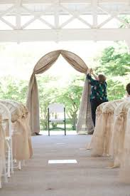 wedding arch lace burlap and lace wedding arch allmadecine weddings affordable