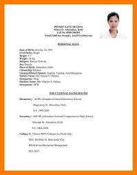 sample resume for ojt architecture student ojt resume haadyaooverbayresort com