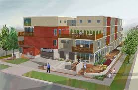 Shipping Container Apartments Luxurious Multi Family Home Made From 93 Shipping Containers