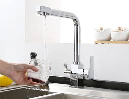 filter faucets kitchen triflow kitchen mixer with filtered water 27303 3 way water filter