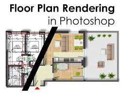 floor plan rendering in photoshop arch student com