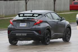automobile toyota u s spec 2017 toyota c hr prototype spied testing in michigan