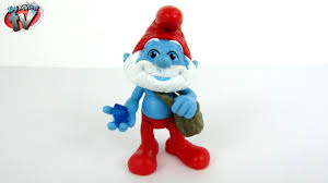 smurfs 2 movie grab ems papa smurf action figure toy review
