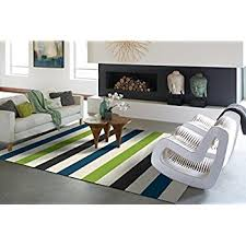 Turquoise And Gray Area Rug Amazon Com Modern Green Gray Blue White Shag Area Rugs 5x7 Soft