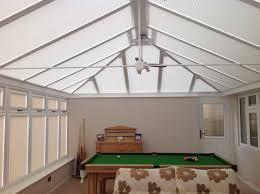 get the functionality of conservatory roof blinds for your