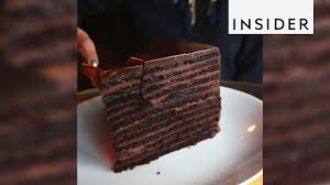 strip house in nyc makes 24 layer chocolate cake youtube