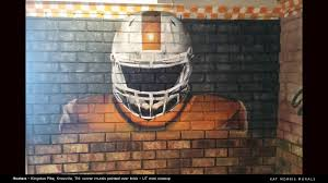 kat morris murals best chattanooga mural painter kingston pike hooters knoxville tn restaurant murals part of a restoration project involving two corners and a dividing wall involving 5 different ut